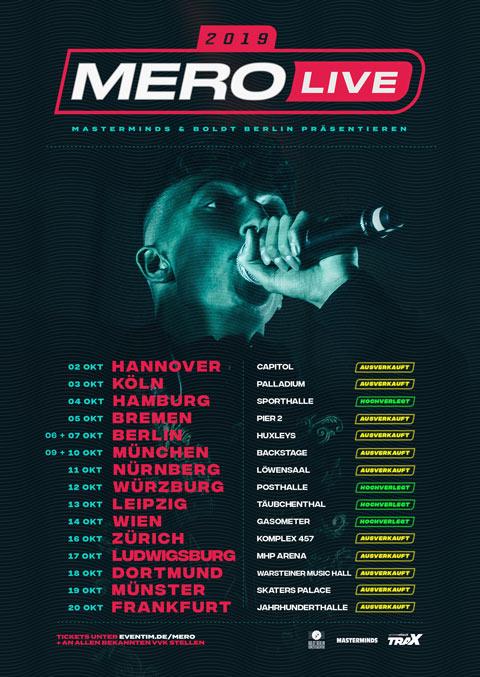 Mero Tour - A Million Live GmbH